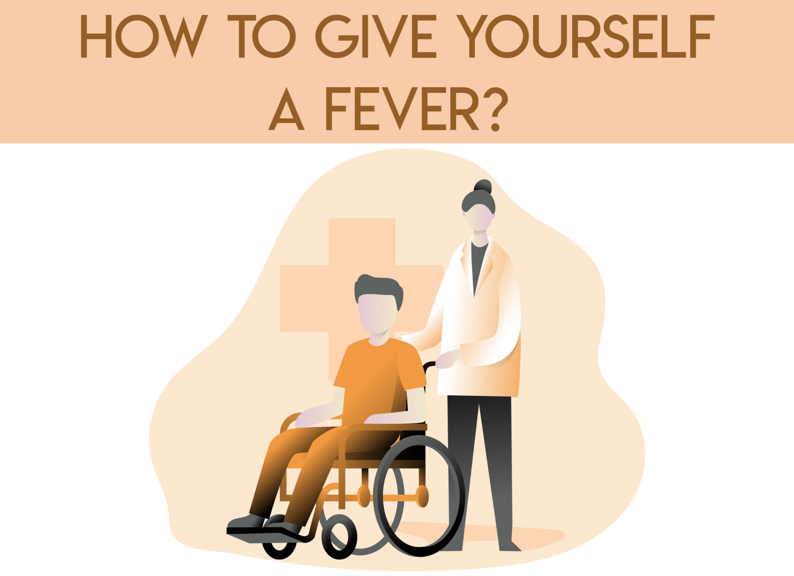 how to give yourself a fever