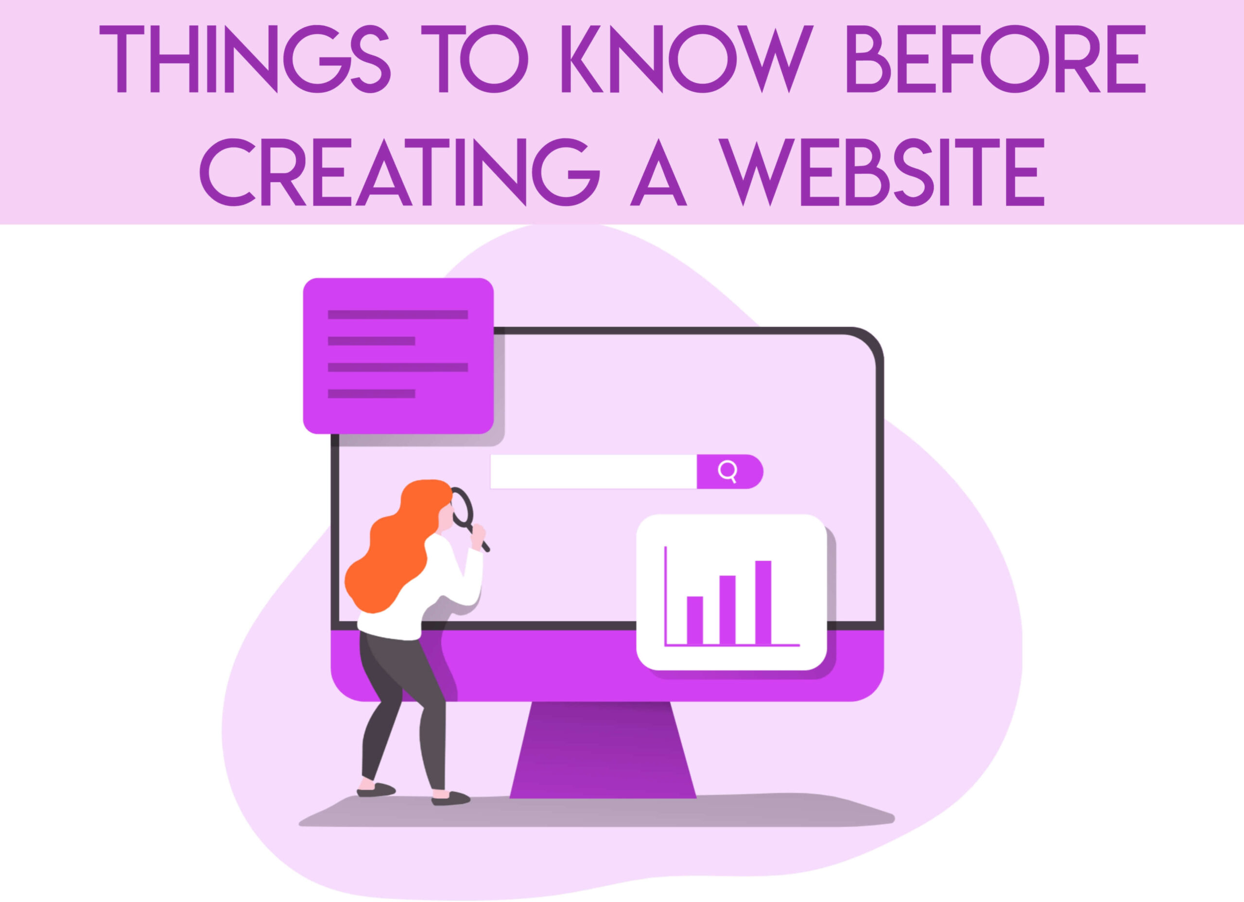 Things To Know Before Creating A Website