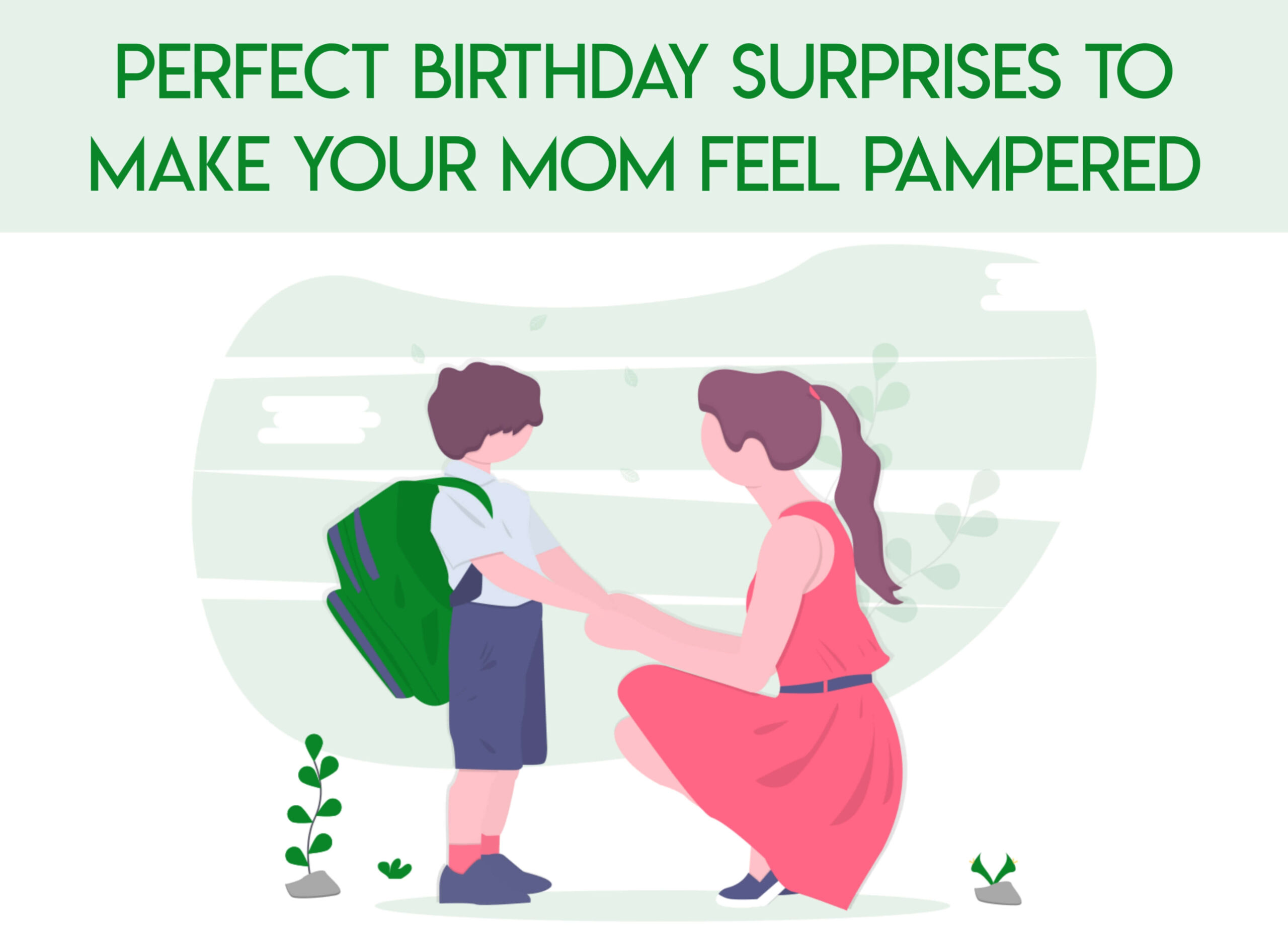 birthday surprises for mom