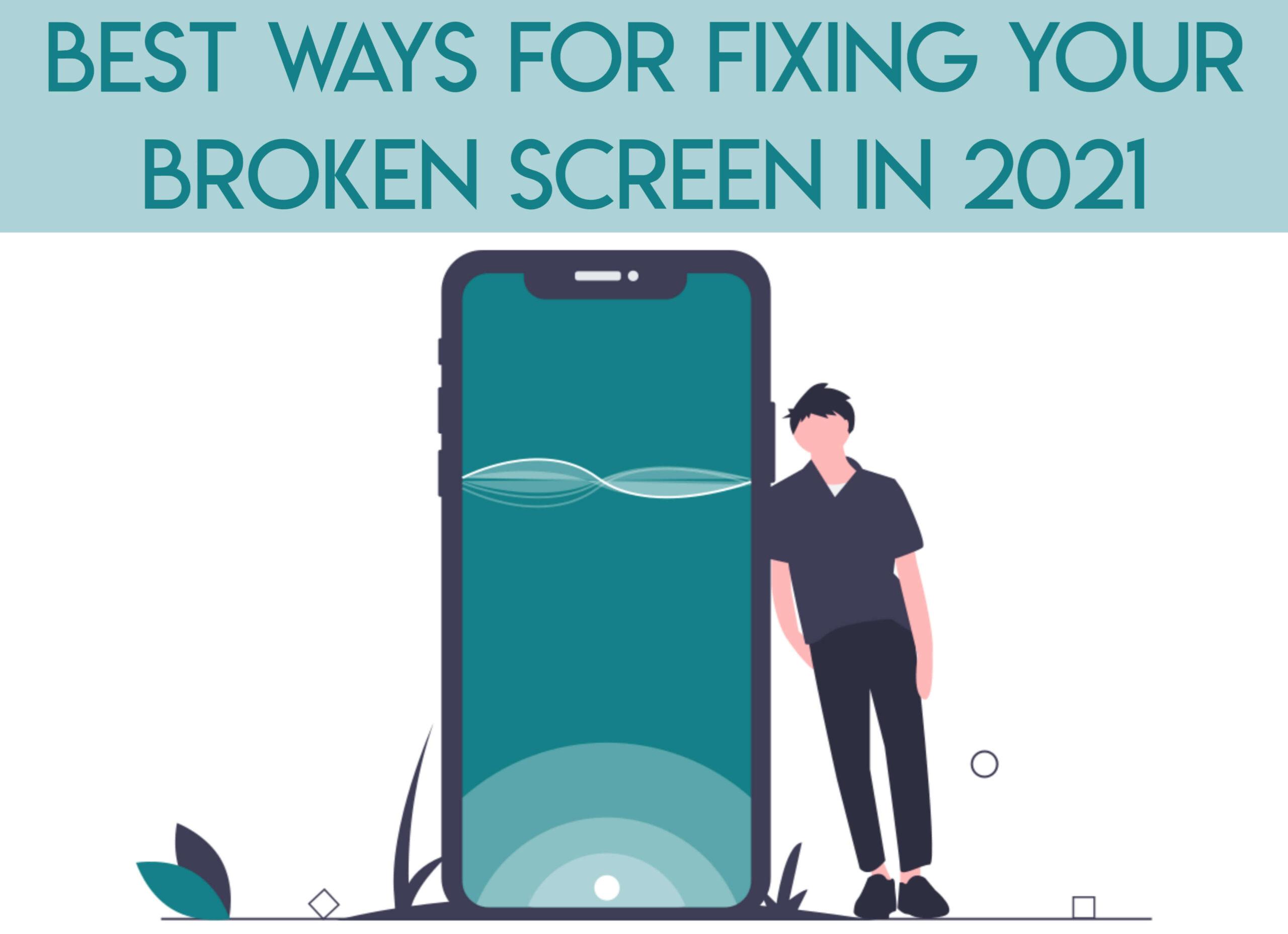 fixing brocken screen
