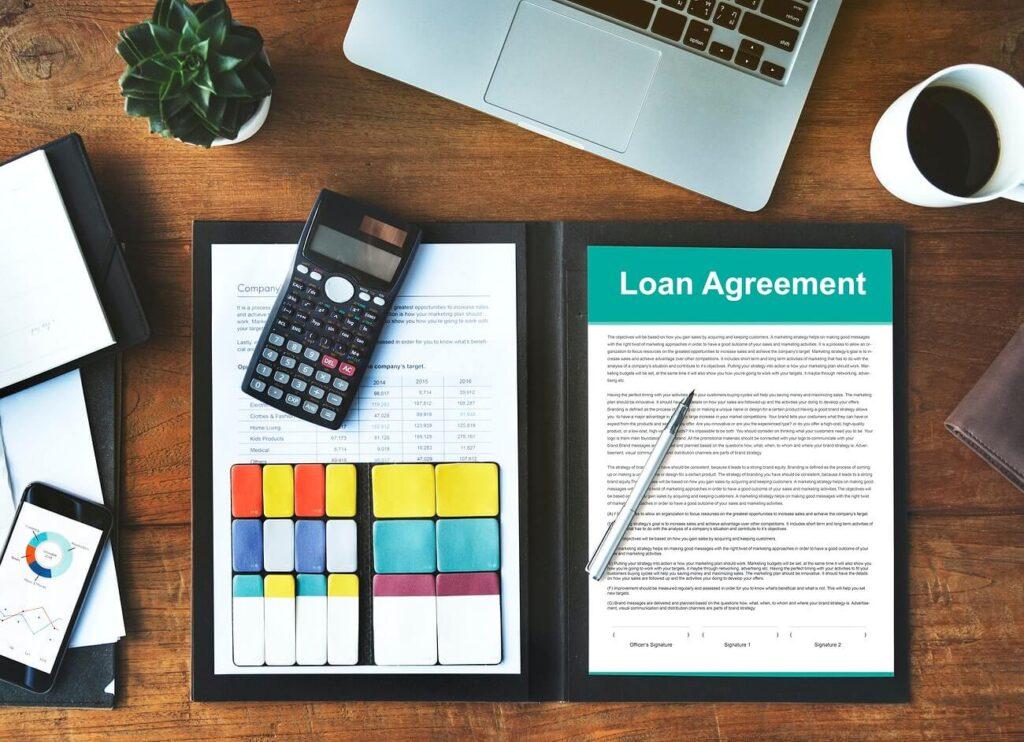 Transparent loans terms