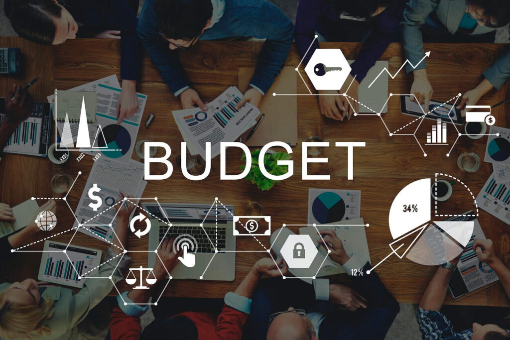 Set the budget for a campaign