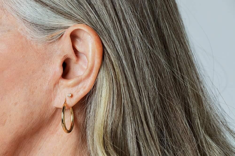 Hoop Earrings and Chunky Rings